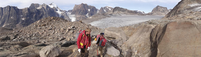 Feltarbejde i Grønland
